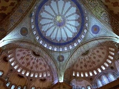 "Inside the ""Blue Mosque"""