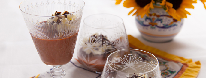 Chocolate Hazelnut Panna Cotta Viking Recipes - Viking Ocean Cruises