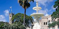 National Heroes Square in Bridgetown, Barbados