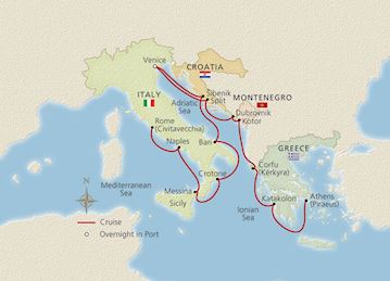 Italy, the Adriatic & Greece