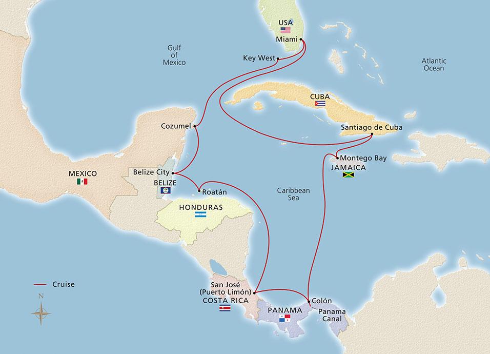 Panama Central America Amp Cuba Miami To Miami Cruise