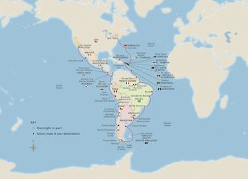 NEW! The Americas & Chilean Fjords