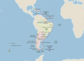 NEW! West Indies, Amazon & South America