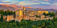 Alhambra Palace in Granada, Spain