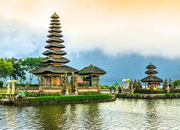 Ulun Danu Beratan Temple in Indonesia