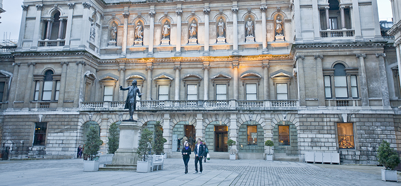 Burlington House Facade Fraser Marr