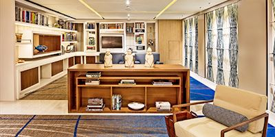 The Library on board Viking ocean ships