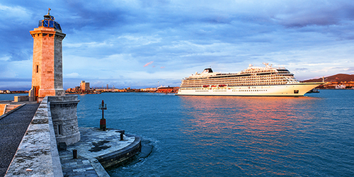 Viking Star in Livorno, Italy