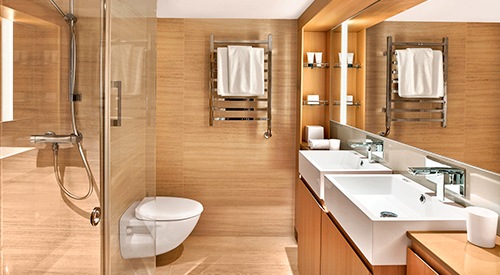 Viking Penthouse Junior Suite stateroom bathroom