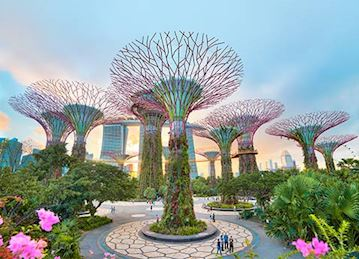 Marina City Park in Singapore