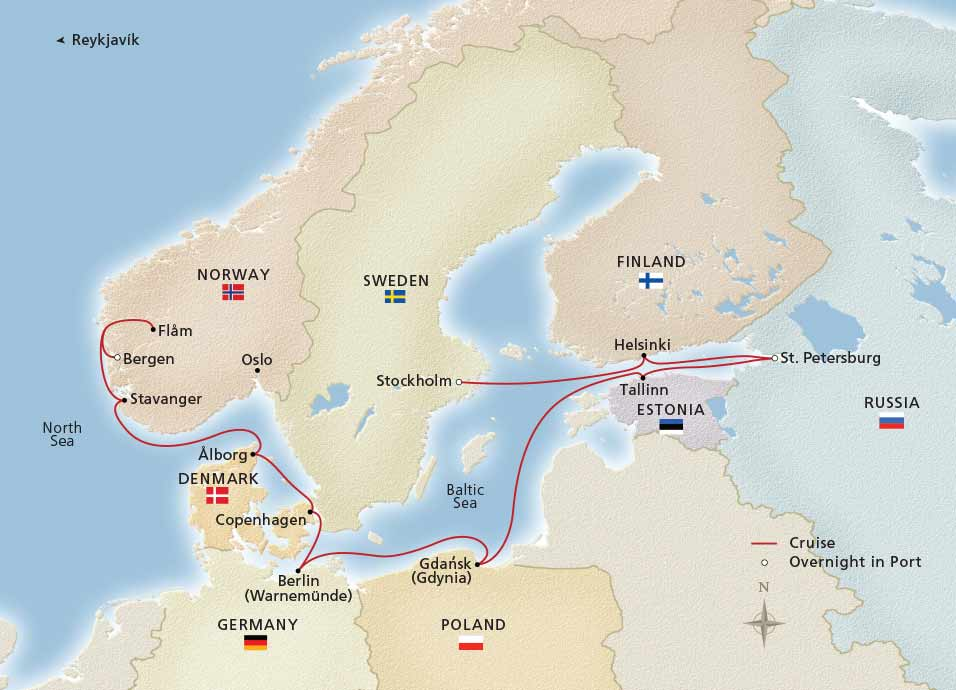 Viking Homelands Stockholm To Bergen Cruise Overview