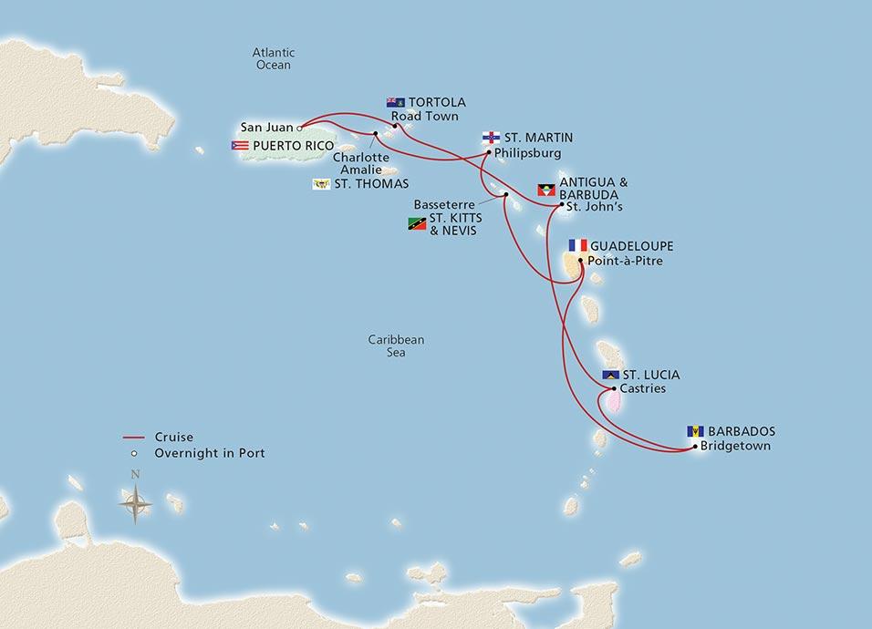 West Indies Explorer Ocean Cruise Overview Viking - West caribbean cruise