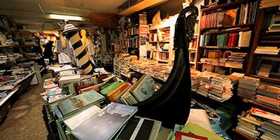 Shakespeare and Sons book store in Venice, Italy