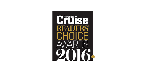 Porthole Cruise Readers' Choice Awards 2016 logo